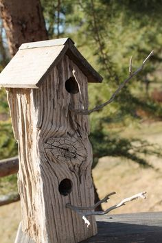 We love #birdhouses made out of recycled products, don't you?
