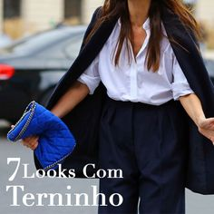 7 Looks com Terninho #terninho #suit #blazer