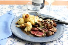 Duck Breast with Mushrooms