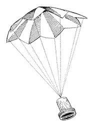Met een stuk papier, wat garen-draadjes en een kurk knutsel je een parachute in elkaar. Wat heb je nodig? een vierkant stuk papier garen een schaar een kur