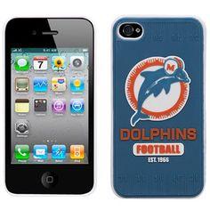 Miami Dolphins Retro Hard iPhone 4 Case