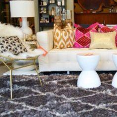 Lusting after this living room arrangement.