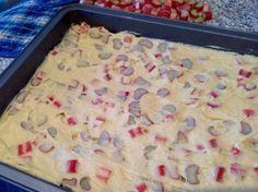Rhabarberkuchen, einfacher und leckerer geht es nicht