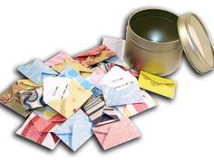 Advent Calendar Mini Envelopes, firlefanz - by danny, DaWanda.com