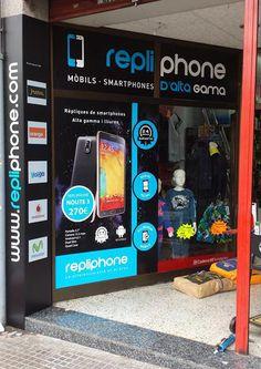 Rediseño de la fachada de RepliPhone