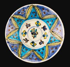 A Kütahya pottery dish, Turkey, 18th Century - Sotheby's