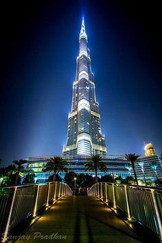 Burj Khalifa - Dubai - tallest building in the world.