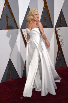 Lady Gaga in Brandon Maxwell - Oscards 2016