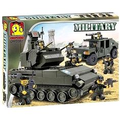 Oxford Blocks OM3302 Army Tank >>> Details can be found by clicking on the image. (This is an affiliate link) #BuildingToys