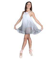 so similar to my senior solo costume!!! mine was purple to black though <3