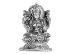 Parad Mahalakshmi - 124 gms, Buy Parad Mahalakshmi - 124 gms online from India. Dimensions: 2.25 inches (H) x 0.5 inch (W) Weight: 124 gms Goddess Lakshmi made of pure solidified mercury (Parad).  Establishment of statue of Laxmi made of mercury gives: wealth for a long long time, success in business or job is achieved.