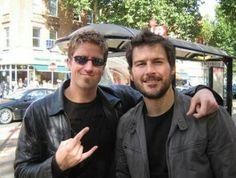 Daniel Adair and Ryan Peake-Nickelback