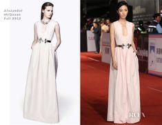 Gwei Lun-Mei In Alexander McQueen – 2012 Golden Horse Awards