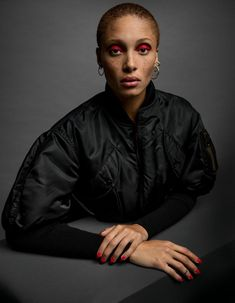 Publication: i-D Magazine Pre Fall 2016 Model: Adwoa Aboah Photographer: Inez Van Lamsweerde Fashion Editor: Alastair McKimm Hair: Ward Stegerhoek Make Up: Kabuki Editorial Photography, Portrait Photography, Fashion Photography, Beauty Photography, Laura Bailey, Texturizer On Natural Hair, Poppy Delevingne, Glam Makeup, Sienna Miller