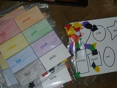Fabulous toddler activity bags ... perfect for plane rides, restaurants, doctor's waiting rooms, etc.