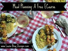 Make dinner time easier. Join this free meal planning ecourse today!