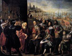 PEREDA, Antonio de The Relief of Genoa 1634-35