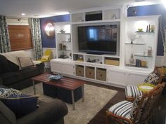 Cathy Zaeske - traditional - basement - chicago - by Your Favorite Room By Cathy Zaeske