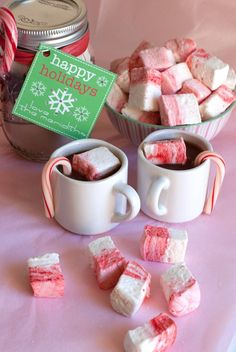 Candy Cane Ideas #candycane #peppermint #christmas