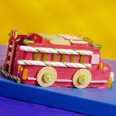 Firetruck Cake - BHG