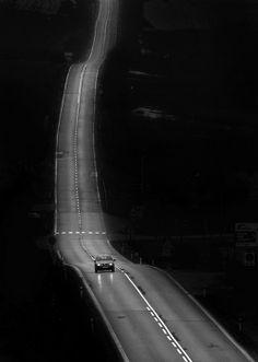 Черно-белые фотографии дорог от Миро Симко (Miro Simko)