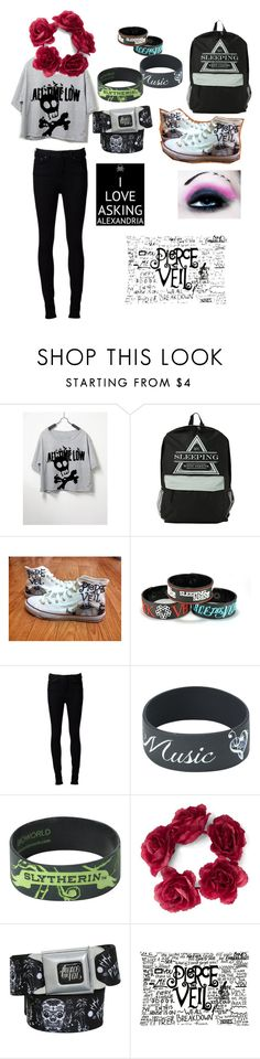 ATL,SWS,PTV,BMTH,AA,FIR, ETF,MIW,GD by isrob on Polyvore featuring Naked & Famous, Converse and Lovers + Friends