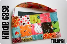 Patchwork Kindle Case tutorial