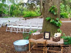 Marie Selby Botanical Gardens Wedding in Sarasota, FL by Sarasota Catering Company (930)