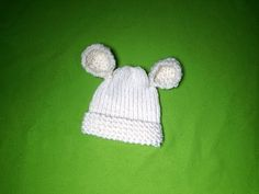 How to Loom Knit a Baby Hat with Ears (DIY Tutorial) - YouTube