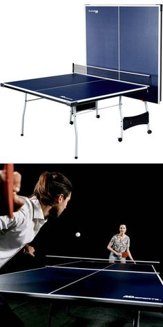 Tables 97075: Indoor Outdoor Play Md Sports 4 Piece Table Tennis Ping Pong  Kids