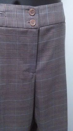 5d26ea18fae Dressy Lane Bryant Women s Plus Sized 18W Career Work Pants Brown Multi EUC   LaneBryant