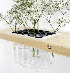 Modern Arrange Shelf with Receptacle for Flowers | Furniture Design Blog - Museum of Furniture