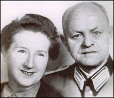 Parents of Eva Braun Franziska and Friedrich Braun.