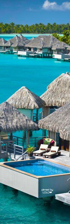 St. Regis...Bora Bora | LOLO❤︎