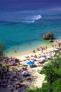 Padang Padang Beach, Uluwatu, Bali Island, Indonesia #travelnewhorizons