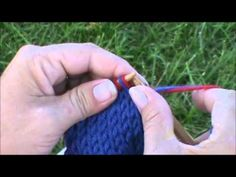 Double Knitting - YouTube