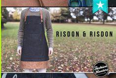 Risdon & Risdon Aprons Fashion Brands, Fashion Online, Fashion Labels, Jewelry Branding, Aprons, Shoe Brands, Cool Style, Footwear, Bags