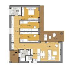 House plans - choose your house by floor plan House Plans, Floor Plans, Flooring, How To Plan, Building, Beach, House Template, Ideas, Renovation