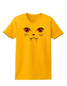 TooLoud Vamp Kitty Womens T-Shirt