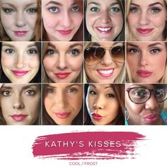 KATHY'S KISSES - Love this shade? You can order it here: www.lastinglip.ca If it's currently out of stock, it wont be listed on the website so feel free to message me via my Facebook Page at www.facebook.com/lastinglip and I'll get you one. #lipsense #kathyskisses #lastinglip #senegence
