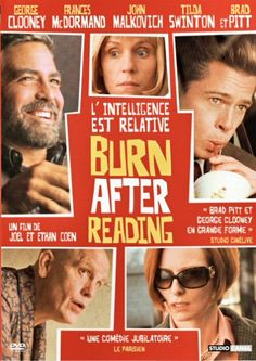 Burn After Reading #film #coen movie poster