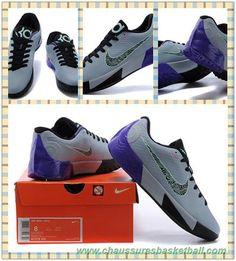 detailed look ddfea 43e9f KD00150135 Gray Noir Pourpre Nike KD Trey 5 II. Zorica Vidic · Chaussures  Basketball