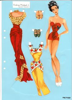 Paper doll - #