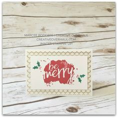Christmas card featuring the Every Good Wish stamp set from the 2017 Stampin' Up! Holiday catalog. Fabulous Foil Designer Acetate adds some glam.