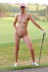 Golfing in the nude