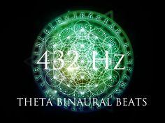 DEEP Theta Binaural Beats ➤ LET GO of Fear, Overthinking & Worries ➤ 432...