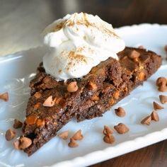 Spicy Cinnamon Fudge Brownie Pie by back4seconds
