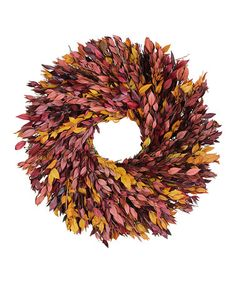 Look at this #zulilyfind! Fall Myrtle 18'' Wreath #zulilyfinds