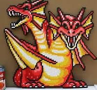 dragon perler beads - Bing Images