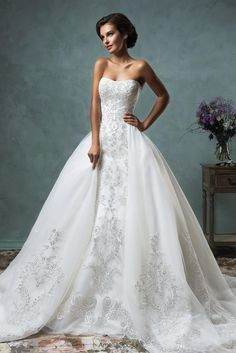 2015 Lace Mermaid Wedding Dresses KR Sweetheart Sleeveless Celeste Amelia Sposa Bridal Gowns With Wrap Covered Button Detachable Court Train